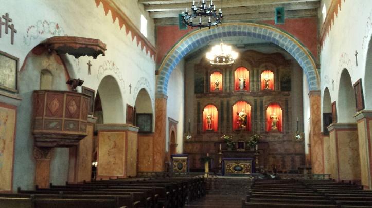 Mission San Juan Baustista - Altar