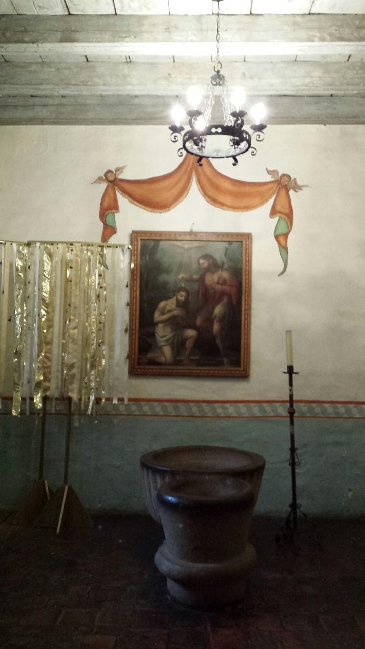 Mission San Juan Baustista - Baptismal Chapel