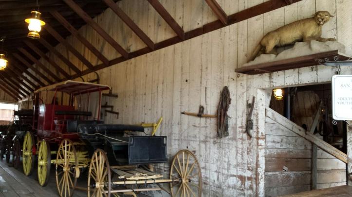 Mission San Juan Bautista - stables